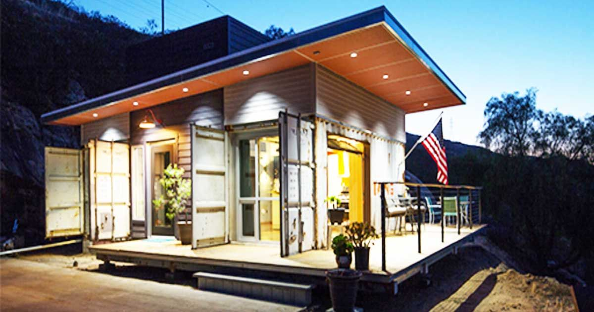 Step inside this spacious san diego container home its - Container homes san diego ...